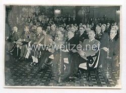 3. Reich Pressefoto: Zur Feier des 470-jährigen Bestehens der Münchener Ludwig-Maximilian-Universität 13.1.1943