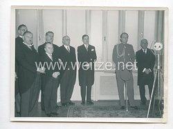3. Reich Pressefoto: Feierliche Eröffnung der Ausstellung des Deutschen Buches im Museum des Prinzen Paul 1939 in Belgrad