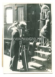 3. Reich Pressefoto: Prinzregent Paul wieder in Jugoslawien 18.5.1939