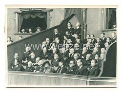 3. Reich Pressefoto: erste Sitzung des Großdeutschen Reichstages