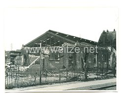 Wehrmacht Pressefoto: Zerstörung in Le Havre Frankreich