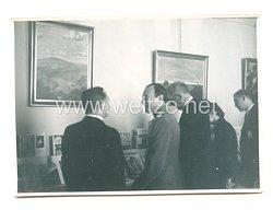 3. Reich Pressefoto: Prinzregent Paul bei der deutschen Buchmesse