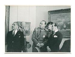 3. Reich Pressefoto: Prinzregent Paul auf einer Veranstaltung