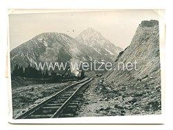 3. Reich Pressefoto: Die Reichsautobahnen der Ostmark in Wachsen 11.4.1939