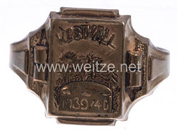 "Wehrmacht Fingerring "" Westwall 1939/40"""