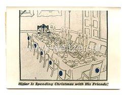 3. Reich Pressefoto: Hitler feiert Weihnachten mit seinen Freunden