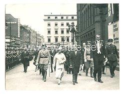 3. Reich Pressefoto: Besuch des Siamesischen Königspaares in Berlin