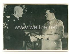 3. Reich Pressefoto: Ehrung deutscher Bergleute durch Reichsmarschall Göring 11.1.1941