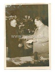 Luftwaffe Pressefoto:  Reichsmarschall Göring sprach zu einer Feierstunde des deutschen Bergmannes 11.1.1941