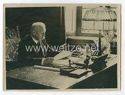 3. Reich Pressefoto: Reichspräsident von Hindenburg