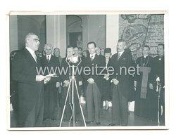 3. Reich Pressefoto: Eröffnung der Austellung des deutschen Buches im Museum des Prinzen Paul