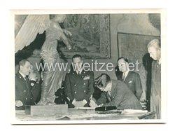 3. Reich Pressefoto: japanische Delegation in Italien ?