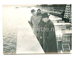 3. Reich Pressefoto: Ministerpräsident Chamberlain in Deutschland 16.9.1938