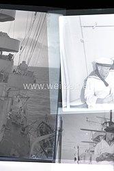 Kriegsmarine Negative,Deutsches Kreuz in Gold Träger Wilhelm Kruse auf dem Kreuz Nürnberg