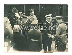 3. Reich Pressefoto: Die Ankunft Admiral von Horthys in Wien 21.8.1938