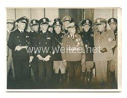 3. Reich Pressefoto: Die italienische Frontkämpfer Abordnung heute in Berlin angekommen