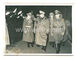3. Reich Pressefoto: Der neue italienischeJustizministerGraf Gandi in Berlin
