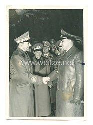 3. Reich Pressefoto: Der neue italienischeJustizministerGraf Gandi nach Rom abgereist