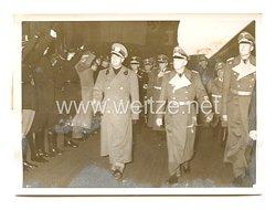 3. Reich Pressefoto: italienischer Außenminister Graf Ciano in Berlin