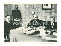 3. Reich Pressefoto: Die Tagung der kleinen Entente in Sinaia 6.5.1938