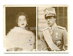 3. Reich Pressefoto: Schwedisch-englische Prinzenhochzeit 13.3.1939