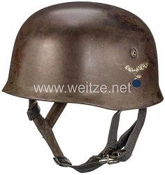 Luftwaffe Stahlhelm M38 für Fallschirmjäger mit 1 Emblem
