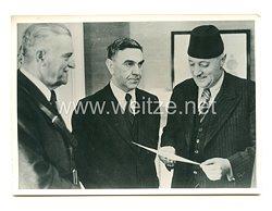 3. Reich Pressefoto: Regierungsberatungen in Agram 27.4.1941
