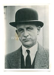 3. Reich Pressefoto: USA-Unterstaatssekretär Welles 11.3.1940