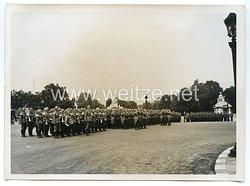 Wehrmacht Pressefoto: Parade in Paris Place de la Concorde (Frankreich)