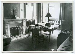 Wehrmacht Pressefoto: Paris Büro im Marine-Ministerium (Frankreich)