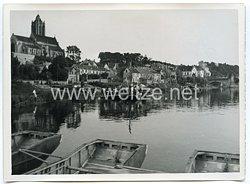 Wehrmacht Pressefoto: Pioniere beim Oise Übergang bei St-Denis (Frankreich)