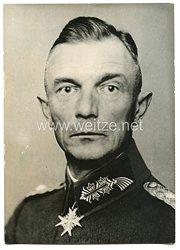 Wehrmacht Heer Pressefoto: General der Infanterie von Bock 13.3.1938