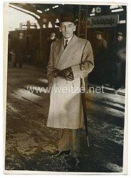 3. Reich Pressefoto: Englischer General Fuller zum Geburtstag von Adolf Hitler in Berlin 19.4.1939