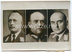 Wehrmacht Heer Pressefoto: Führer der militärischen Unternehmungen zum Schutz der Neutralität des Nordens 10.4.1940