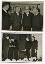 3. Reich Pressefotos: Verleihung des Literaturpreises der Reichshauptstadt an Joachim von der Goltz 7.4.1940