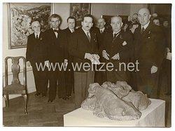 3. Reich Pressefoto: Ausstellung bulgarischer Künstler eröffnet 11.3.1941