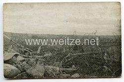 1. Weltkrieg Deutsches Heer Foto, Stacheldrahtsperre