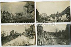 1. Weltkrieg Deutsches Heer Fotos, Zerstörte Stadt Lille