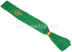 Preußen Schärpe für den Fahnenträger der Kriegervereinsfahne des