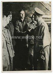 3. Reich Pressefoto: Rudolf Hess im Saarpfälzischen Grenzgebiet