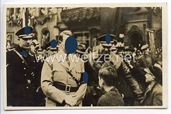 """III. Reich - Propaganda-Postkarte - """" Adolf Hitler - Die Saar ist deutsch für alle Zeit """""""