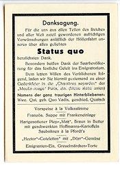"""III. Reich - Propaganda-Postkarte - """" Danksagung - Status quo - Zur Erinnerung an die Saarabstimmung 13.1.1935 """""""