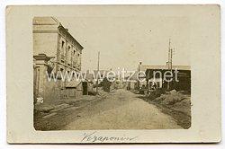 Foto Erster Weltkrieg: Ortschaft vonVézaponin (Frankreich)