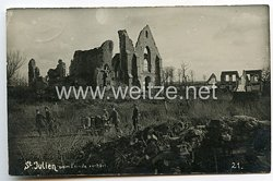 Foto Erster Weltkrieg: Ortschaft St Julien (Frankreich)