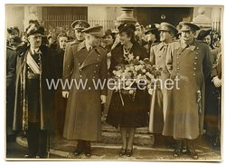 """3. Reich Pressefoto: Der Tag der """"Purisima Conception"""" Schutzpatronin der Spanischen Infanterie"""