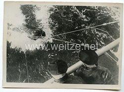 Kriegsmarine Pressefoto: Minensuchboote in der Nordsee 6.2.1940