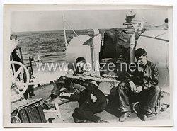 Kriegsmarine Pressefoto: Schnellboot Voran 12.9.1940