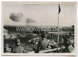 Kriegsmarine Pressefoto: Schutz der Küste vor Feindlichen Einfällen 5.4.1940