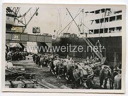 Kriegsmarine Pressefoto: Kampfeinheiten gehen an Bord 31.10.1939