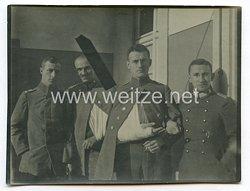 1. Weltkrieg Deutsches Heer Foto, Verwundete Soldaten